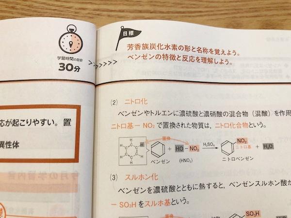 進研ゼミ高校・大学受験講座・化学